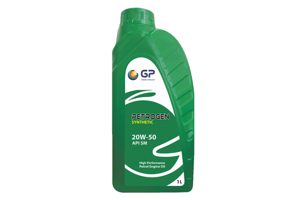 GP Petrol Engine Oil Synthetic 20W-50 API SM