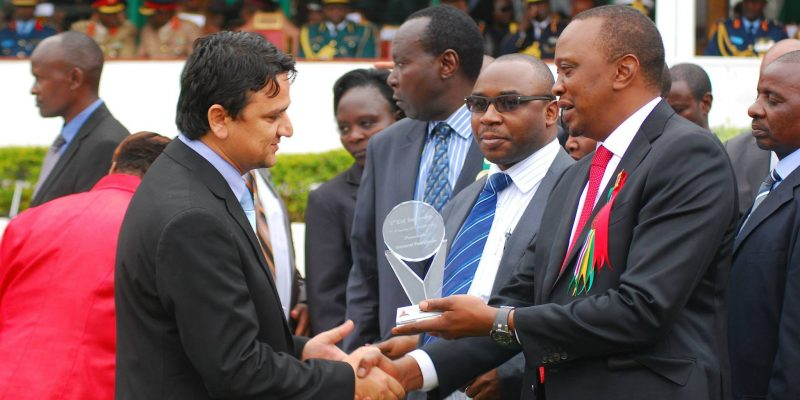 Tanzania President award to GP Tanzania