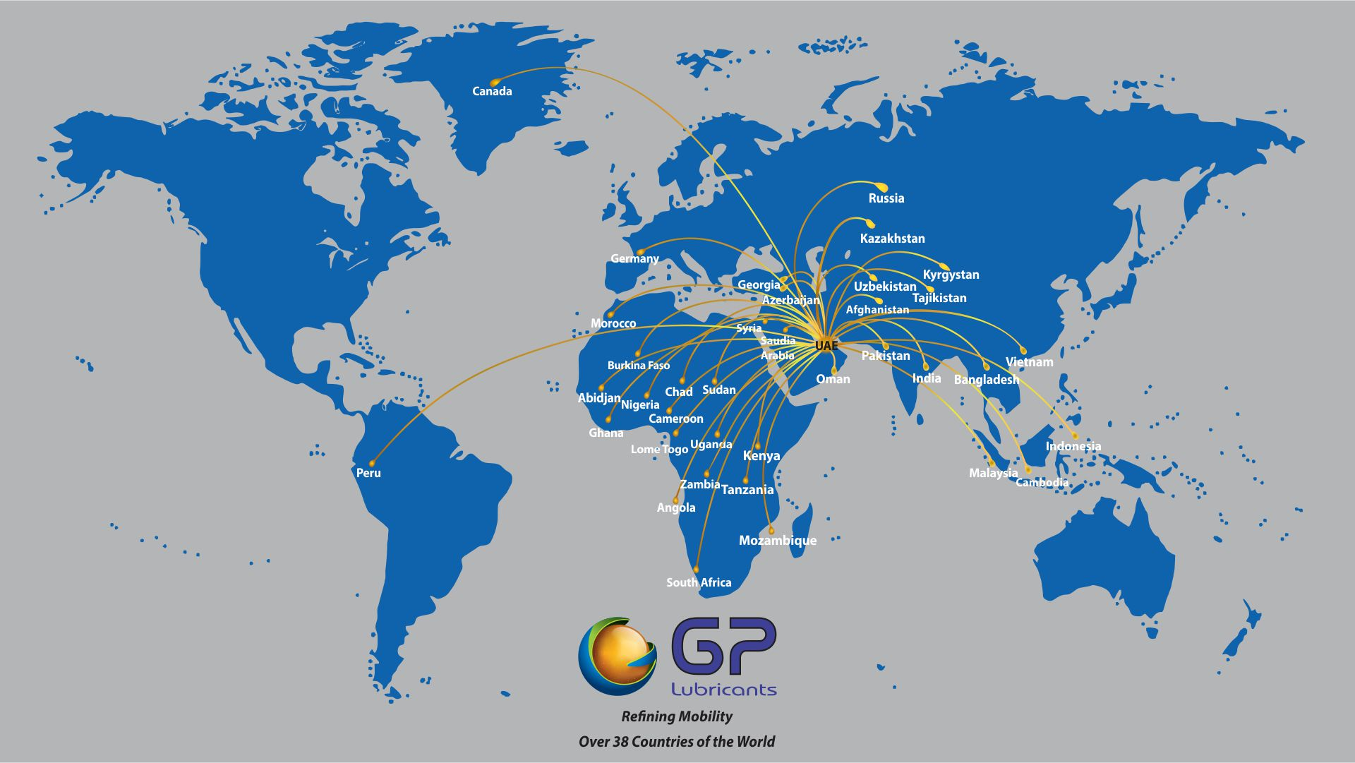 GP Presence world wide